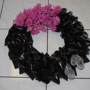 With Love Wreath 20""